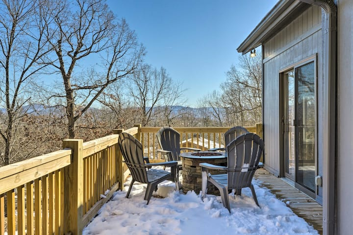 NEW! Massanutten Resort Home w/ Deck + Mtn Views!