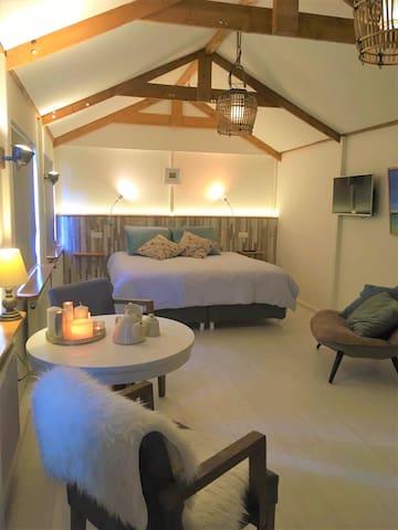 Beachy Gästehaus mit Terrasse im Zentrum!