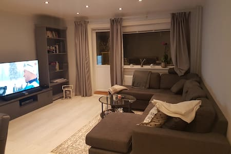 Newly renovated apt, 4 min. walk to the metro. - Oslo - Lejlighed
