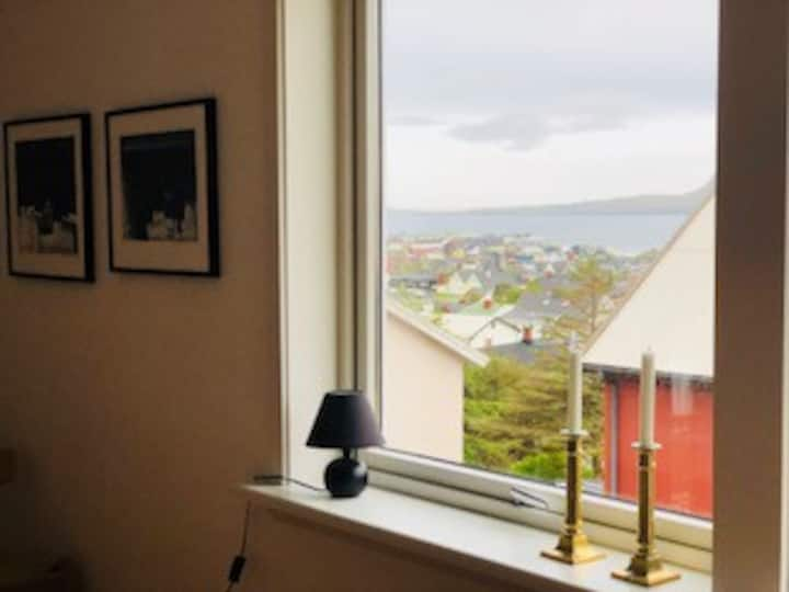 Spacious apartment near the center of Tórshavn