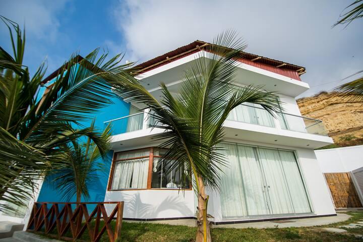 Casa de Playa - Playa Privada Zorritos