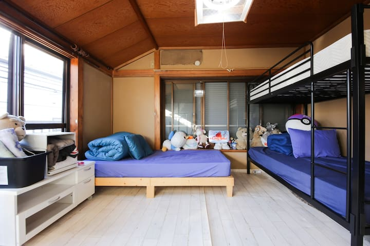 SECRET BASE8 in tokyo with WIFI - 中野区 - Hus