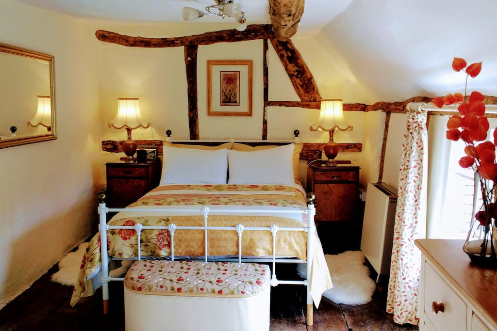 """""""The bed was not only incredibly comfy but also beautifully made and made us feel like we were staying in a boutique hotel."""""""