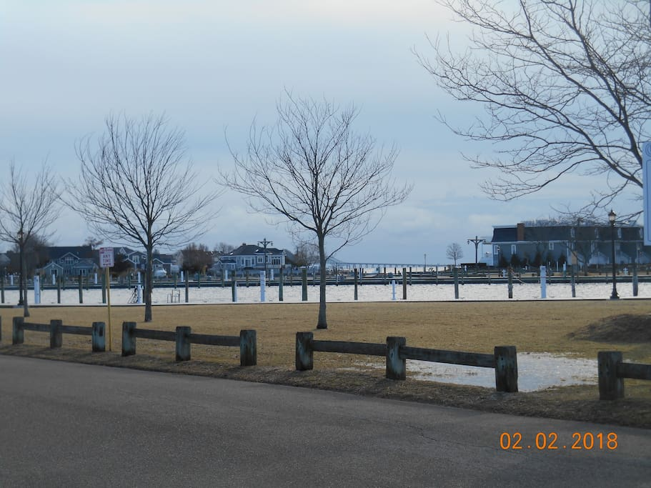 waterfront neighborhood