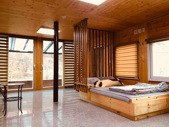 강원도/영월/독채/커플룸/자연속에휴식공간 -작은소풍-