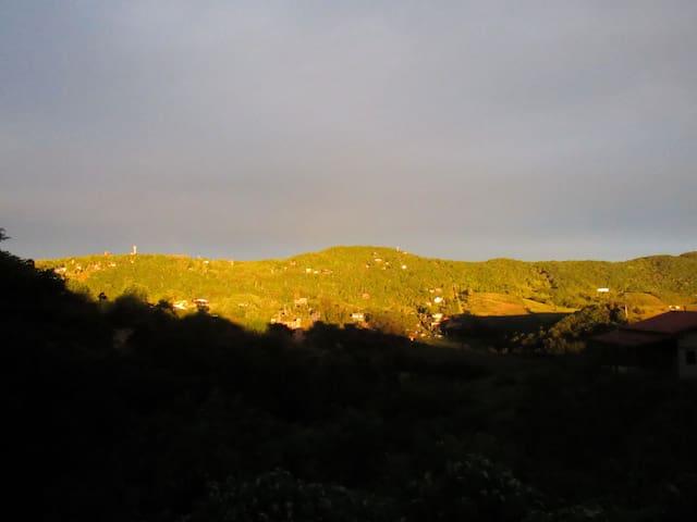 Visual das montanhas.