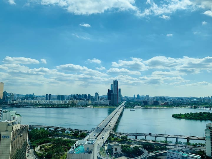 2. HH's house #Han river view #Mapo St. 1min #Cozy