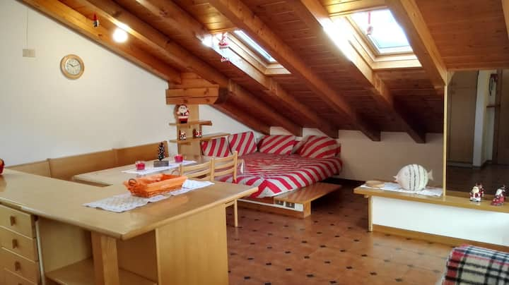 Mansarda nelle Dolomiti - Attic in the Dolomites