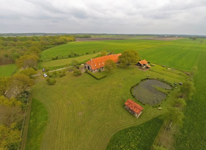 Stijlvol logeren in Drenthe - Nijensleek - Huis