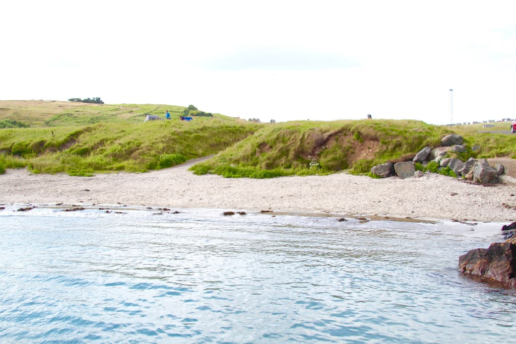 This is Bayble Beach. A short walk from your doorstep.