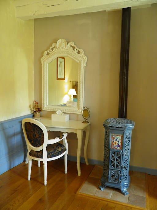 Chambre la belle romantique pour 2 pers bed breakfasts for rent in s v rac l 39 glise - Belle chambre romantique ...