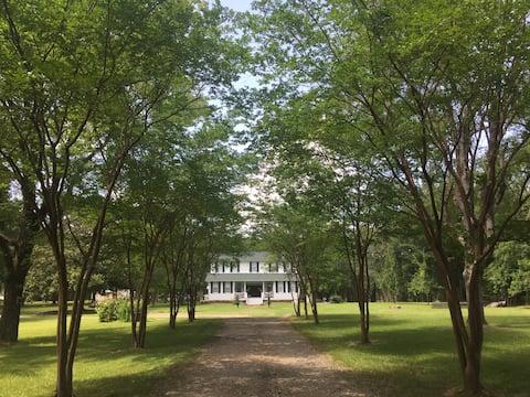 The Hopkins House      Built by Rev Elias George I