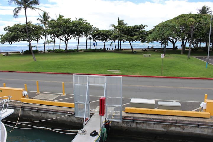 View From Ho'okipa's Bridge