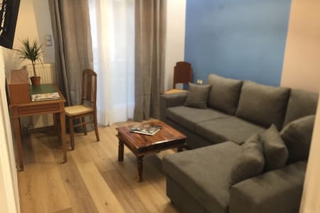 Athens Central Blue Grand Apartment .