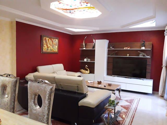 Appartement haut standing avec jaccuzi