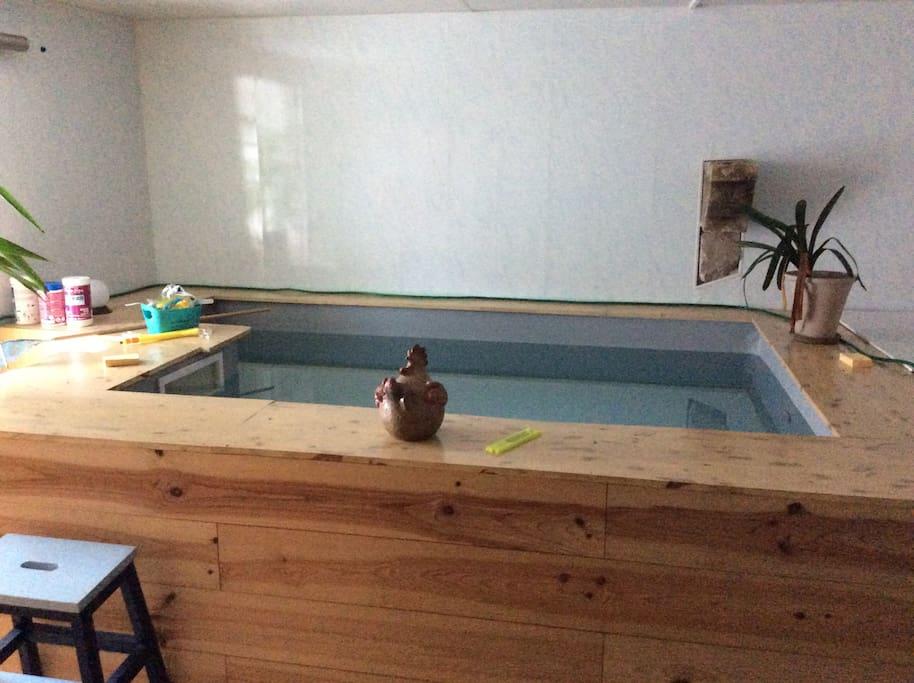 Le lieu de baignade