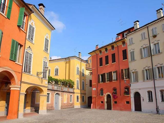 Stanza Privata Centro Storico VicinaPiazzaPomposa - Modena - Lägenhet