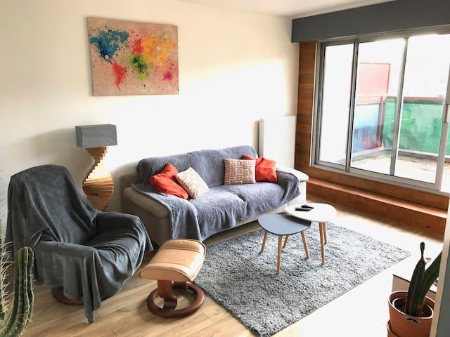 appartement neuf, bien équipé vue sur Puy de dôme
