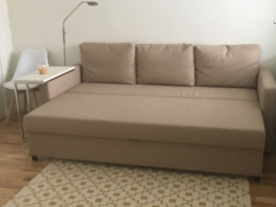 sofa to double bed