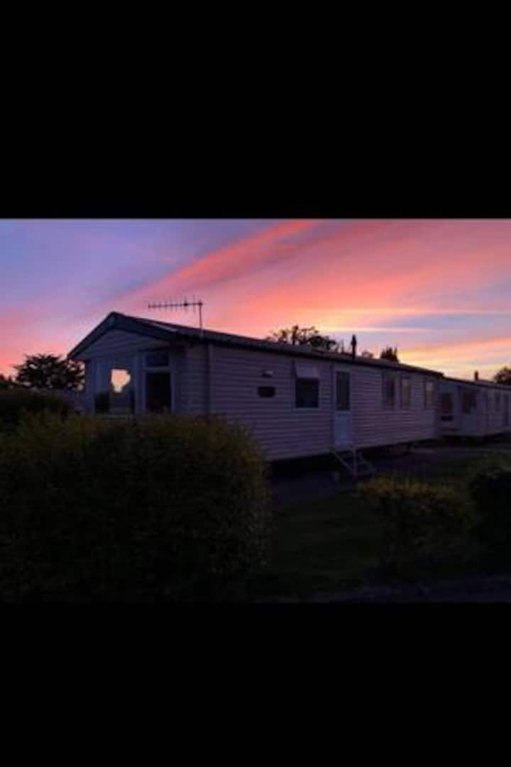 Static caravan, family orientated
