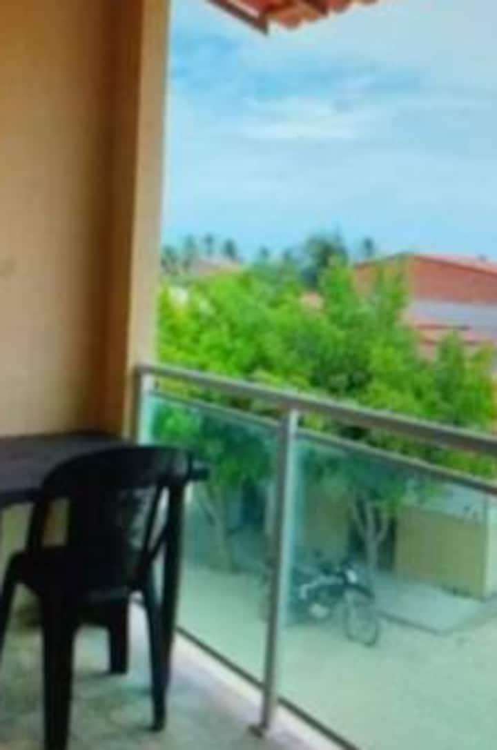Apartamento para 1 ou 2 casais em Preá