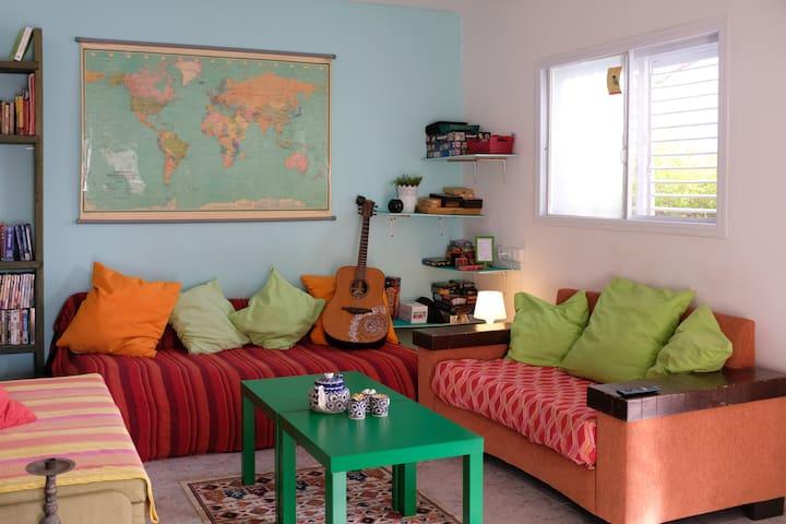 Golan Garden Hostel, Katzrin's own little Paradise