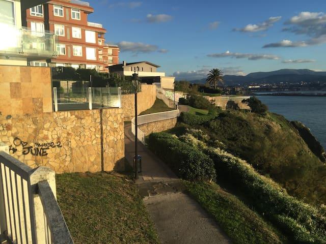 Habitación doble centro Algorta - Getxo