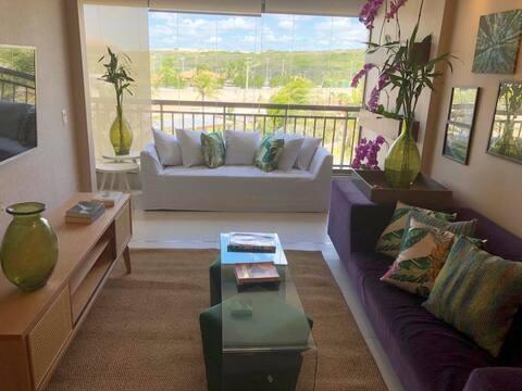 Apartamento no Mandara Kauai Porto das Dunas