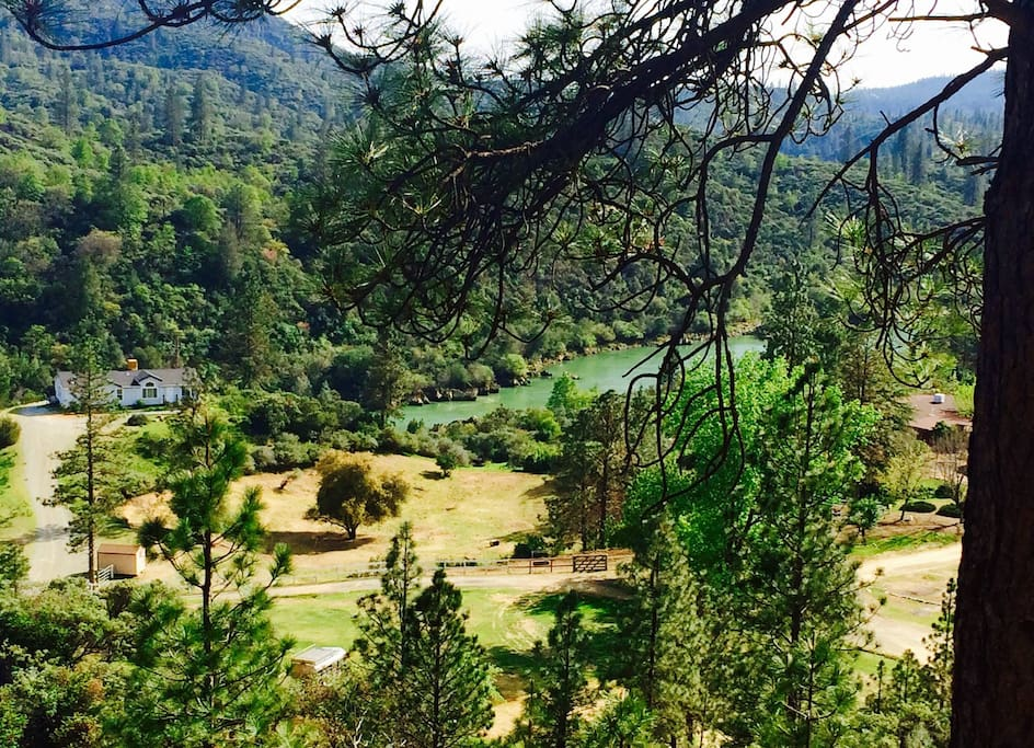 Our ranch from above