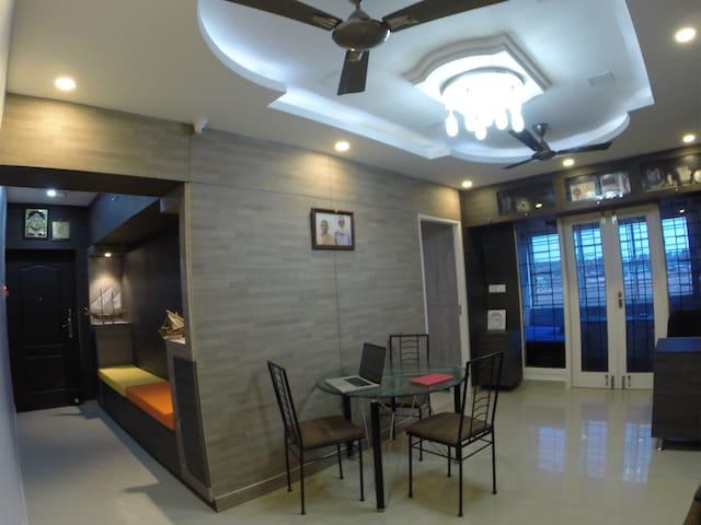 Modern furnished apartment in the heart of Chennai - Chennai - Leilighet