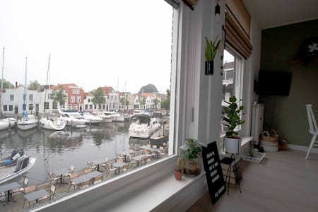 Apartment with fantastic views over the harbor