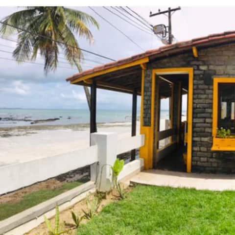 Pé na areia 2 em Ilha de Maré  @casareiilhademare
