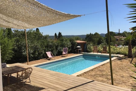 Nice and peaceful House with private pool & garden - Saint-Jean-de-Fos - Villa