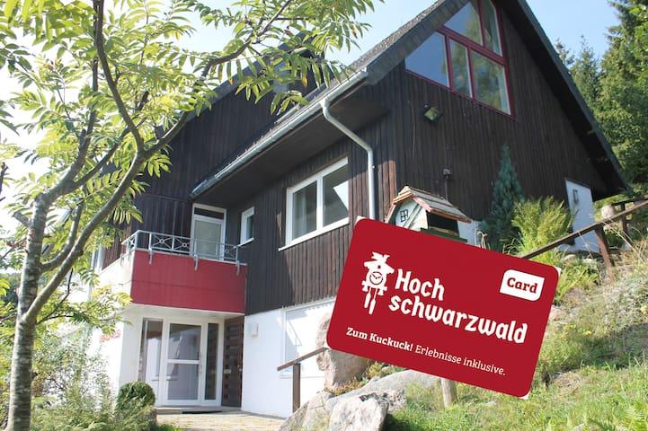 Ferienwohnung Titisee in Bärental/Schwarzwald