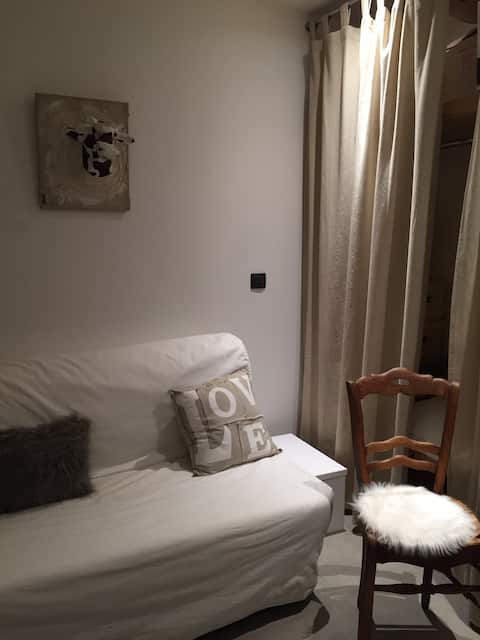 Room in apartment near ski resorts