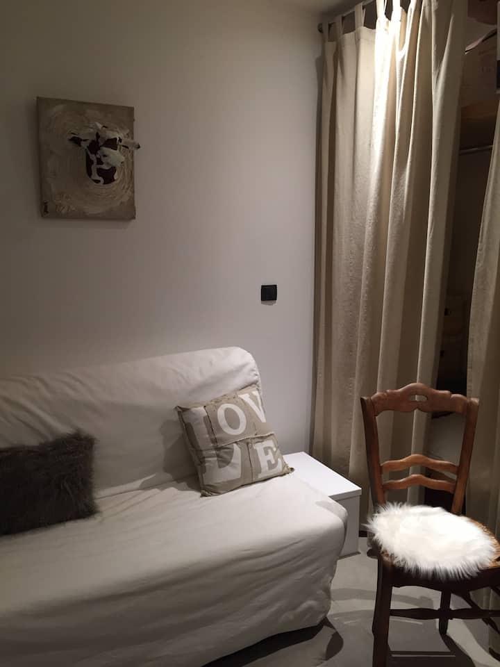 Chambre dans appartement près des stations de ski