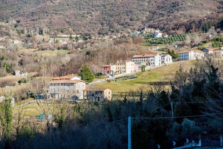 La casa del borgo Cìari int.2.