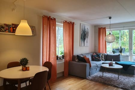 Cozy, modern apartment near nature