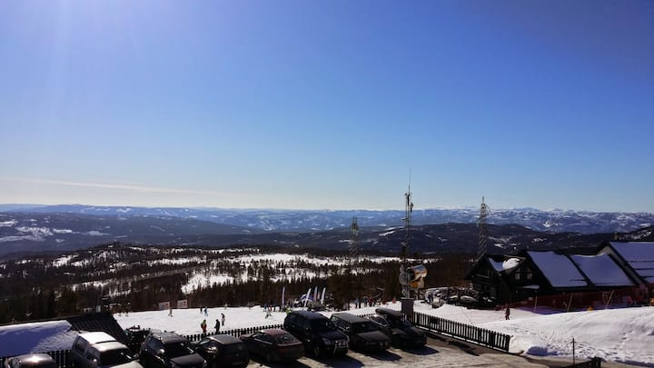 Norefjell Skisenter  -  ski out/in