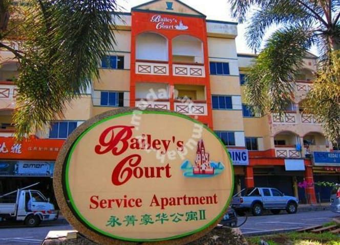 Charming 3 rooms 2 baths apartment. - Kuantan - Lejlighed