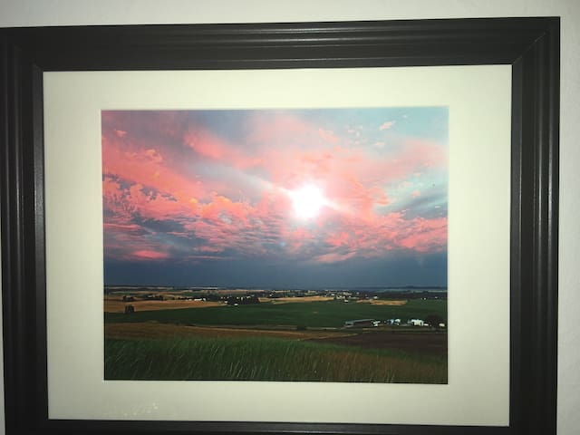 Big Sky Over Valleyford $30