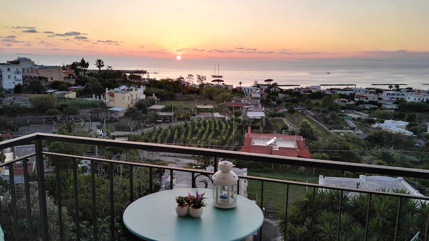 Charmant appartement,  vue sur la mer