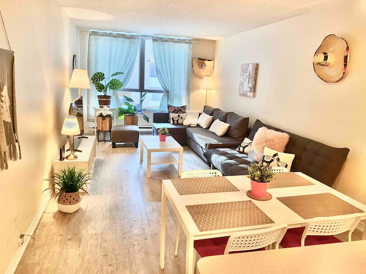 nice apartment in the heart of montreal!