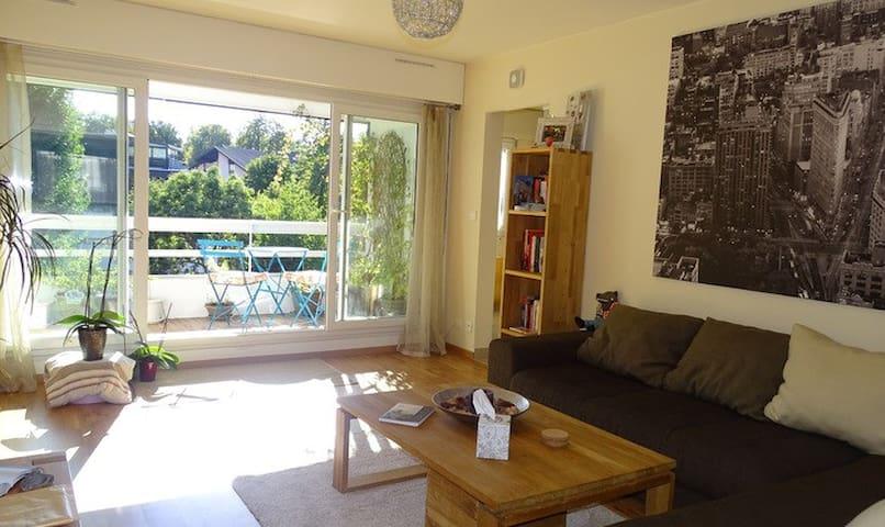 Bel appartement 80m2 confortable proche de Genève