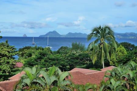 Bungalow confort SAINTE ANNE face mer caraïbes - Sainte-Anne