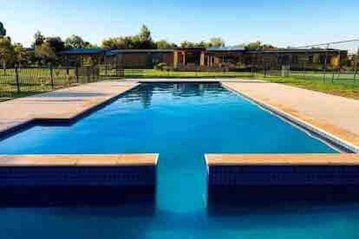 Outdoor Pool in tranquil natural surrounds.