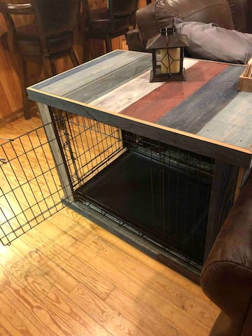 Stylish New Dog Crate for your Fur Baby