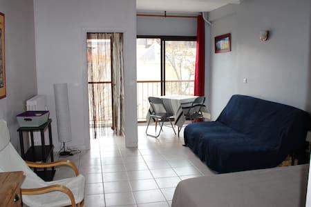 Vernet-les-Bains  grand studio bien situé  N°18bis - Vernet-les-Bains - Appartement