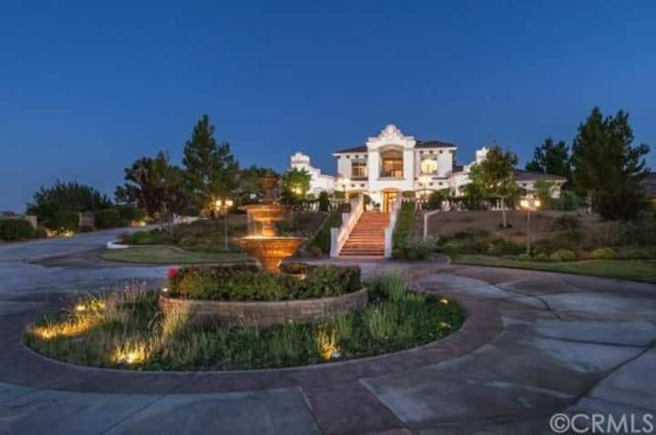 Desert Oasis, Villa Estate, Spanish Mission-Style