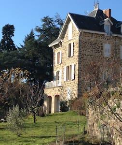 Big Family House in Ardèche - Saint-Félicien